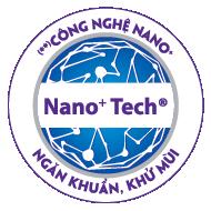 Công nghệ Nano bạc diệt sạch tới 650 loại vi khuẩn, nấm, virut, ký sinh trùng, giúp loại bỏ mùi hôi và ngăn ngừa hăm tã.