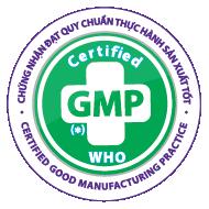 Sản phẩm được sản xuất trong nhà máy đạt tiêu chuẩn Thực hành sản xuất tốt GMP – WHO hiện đại nhất trong lĩnh vực vệ sinh ngành giấy.